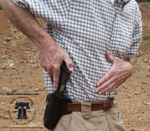 How To Safely Draw And Holster Firearm